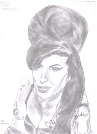 Amy Winehouse by s-tyler